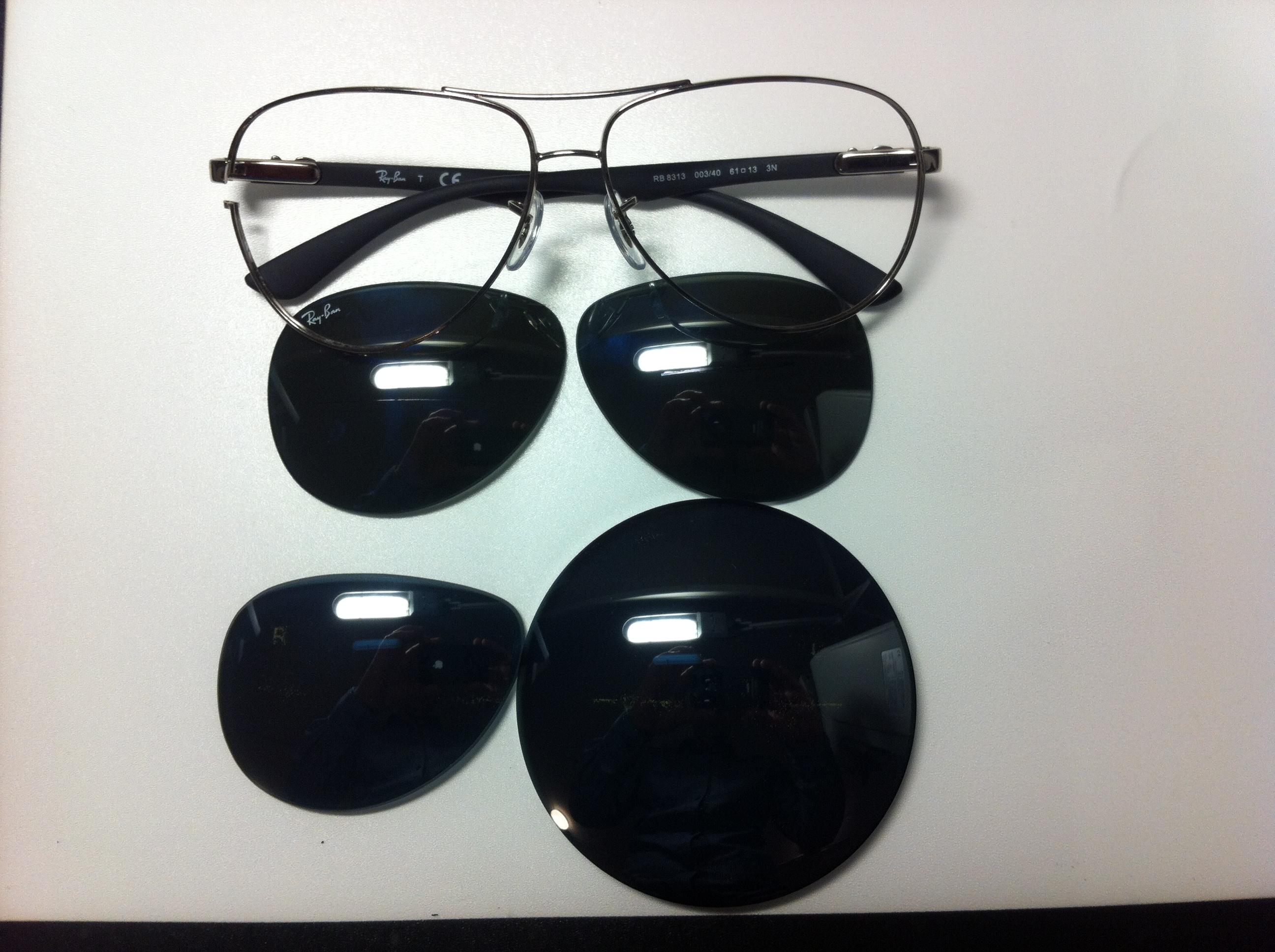 Как затонировать очки своими руками